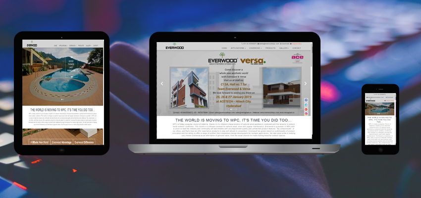 Design the responsive website for your company today
